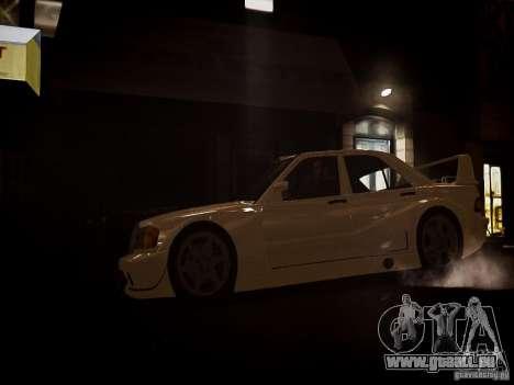 Mercedes 190E Evo2 pour GTA 4 Vue arrière de la gauche