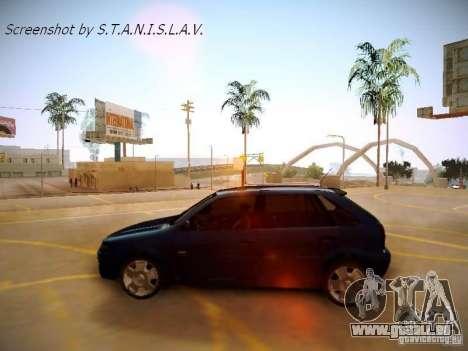 Volkswagen Golf V2.0 Final für GTA San Andreas rechten Ansicht