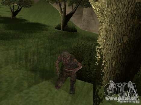 Snork de S.T.A.L.K.E. r pour GTA San Andreas deuxième écran