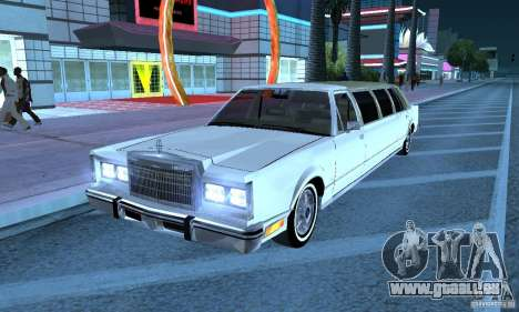 Lincoln Town Car 1986 Limo pour GTA San Andreas
