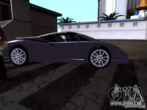 B Engineering Edonis für GTA San Andreas zurück linke Ansicht
