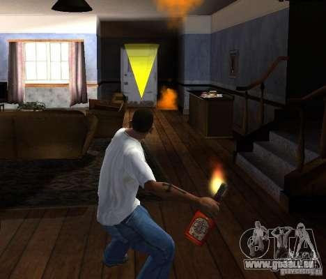 Cocktail Molotov pour GTA San Andreas quatrième écran