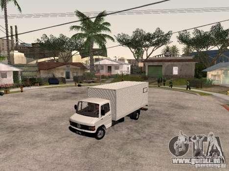 Mercedes Benz 710 pour GTA San Andreas vue intérieure