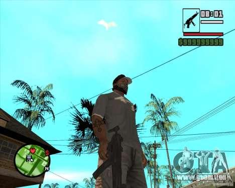 MP5 für GTA San Andreas zweiten Screenshot