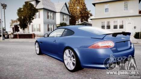 Jaguar XKR-S 2012 pour GTA 4 roues