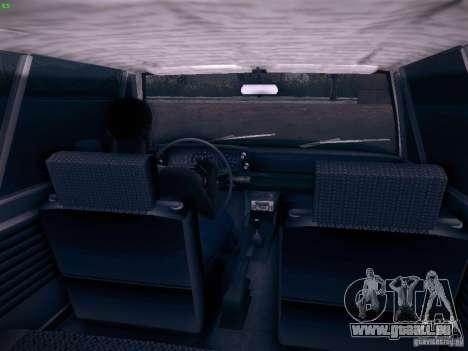 BMW 2002 1972 pour GTA San Andreas vue arrière