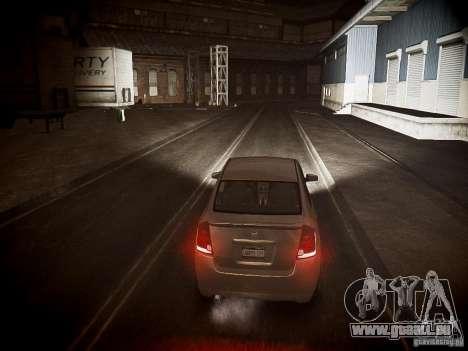Nissan Sentra SE-R Spec V pour GTA 4 Vue arrière
