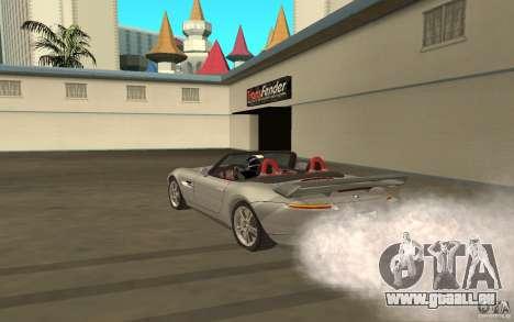 BMW Z8 pour GTA San Andreas vue de droite