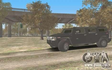 Hummer H2 Stock für GTA San Andreas linke Ansicht