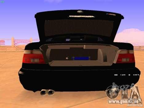 BMW M5 E39 Stanced pour GTA San Andreas vue de droite