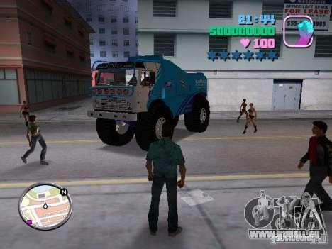 KAMAZ Master pour GTA Vice City vue arrière