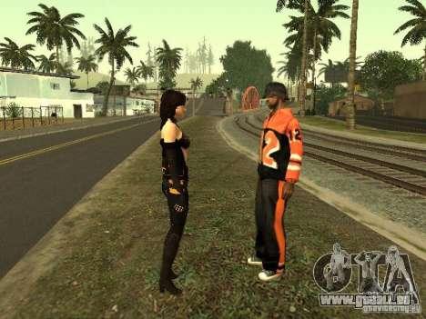 Girls from ME 3 für GTA San Andreas neunten Screenshot
