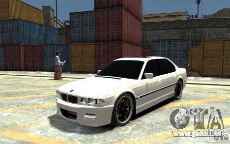 BMW 750i E38 HAMANN pour GTA 4
