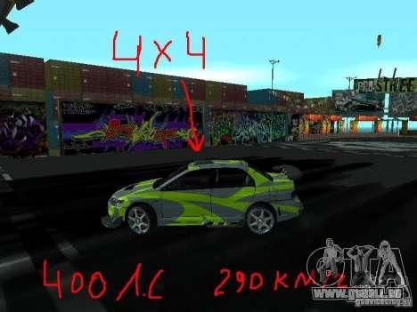 Drift mod für GTA San Andreas zweiten Screenshot