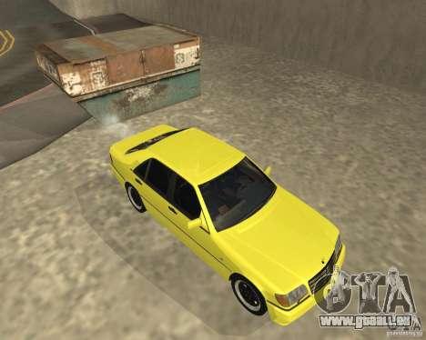 Mercedes Benz 600SEL AMG V140 pour GTA San Andreas vue de droite
