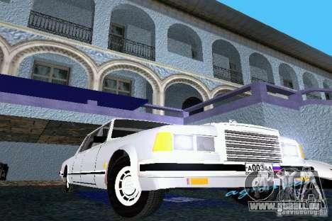 ZIL 41047 pour une vue GTA Vice City de la gauche