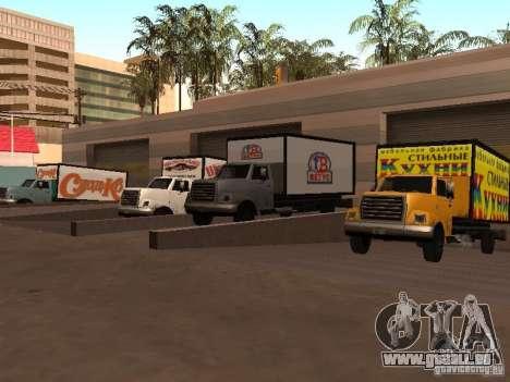 Yankee RUS für GTA San Andreas Rückansicht