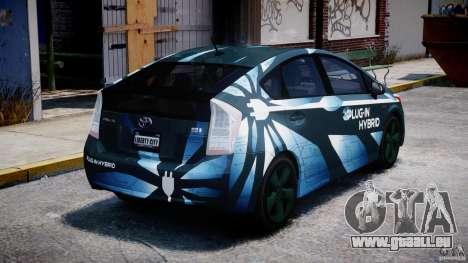 Toyota Prius 2011 PHEV Concept für GTA 4 Seitenansicht