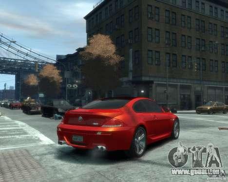 BMW M6 2010 v1.1 für GTA 4 rechte Ansicht