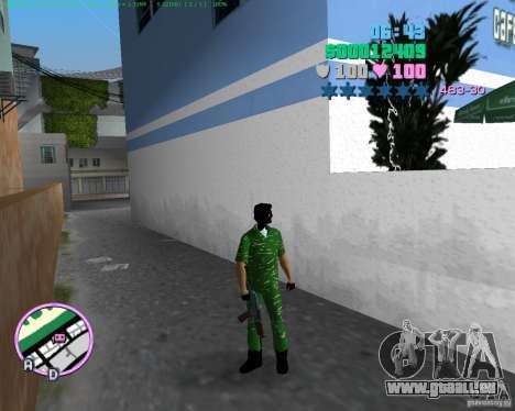 AK-74U GTA Vice City pour la troisième écran