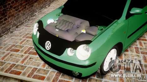 Volkswagen Polo 2.0 2005 pour GTA 4 est une vue de l'intérieur