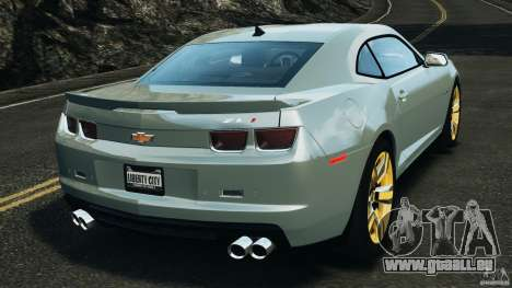 Chevrolet Camaro ZL1 2012 v1.2 pour GTA 4 Vue arrière de la gauche
