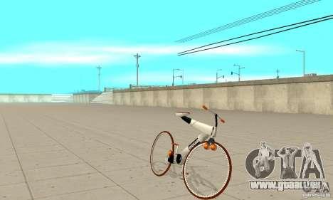Nulla 2009 Mt Bike pour GTA San Andreas laissé vue