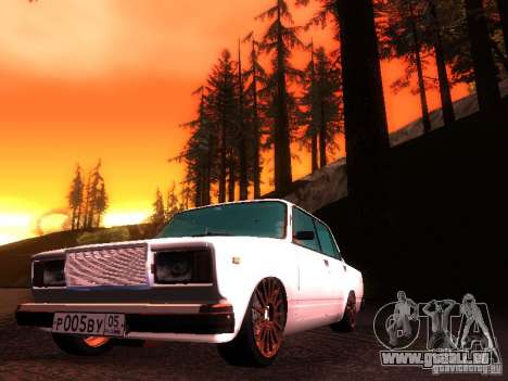 VAZ 2107 Lambo pour GTA San Andreas laissé vue