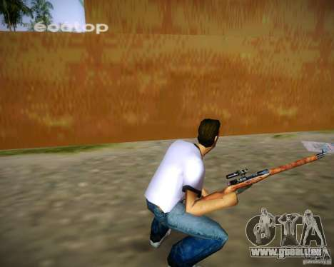 Mosin-Nagant für GTA Vice City Screenshot her