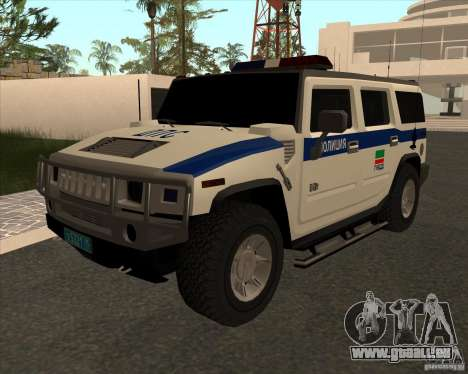 Hummer H2 DPS pour GTA San Andreas