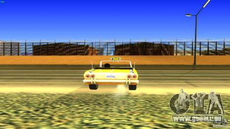 Crazy Taxi - B.D.Joe für GTA San Andreas Rückansicht