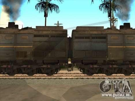 2te10v-4036 pour GTA San Andreas laissé vue