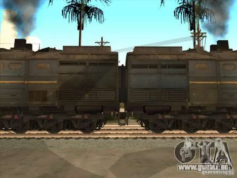 2te10v-4036 für GTA San Andreas linke Ansicht
