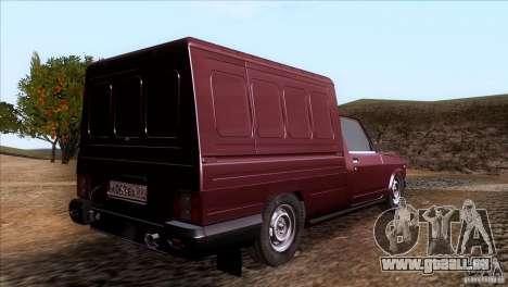 IZH 27175 pour GTA San Andreas laissé vue