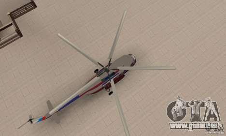 MI-17 zivil (Deutsch) für GTA San Andreas rechten Ansicht