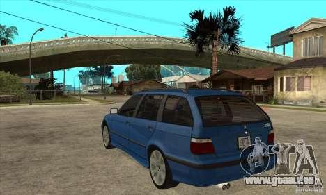 BMW 318i Touring pour GTA San Andreas vue arrière
