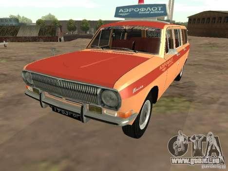 Volga GAZ-24 AEROFLOT 02 pour GTA San Andreas