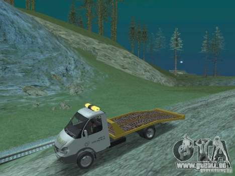 GAZ 3302 2003-2011. Abschleppwagen für GTA San Andreas