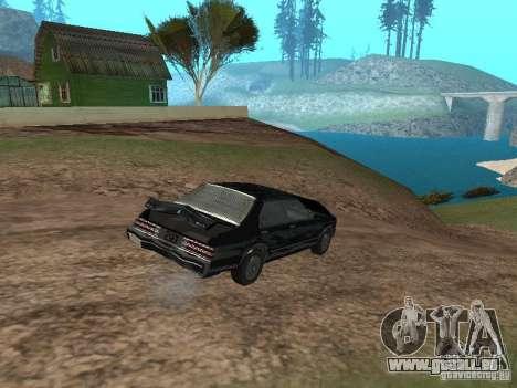 Römische ist Taxi von GTA 4 für GTA San Andreas Innenansicht