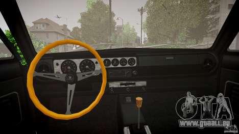 Lotus Cortina S 1963 pour GTA 4 est une vue de l'intérieur