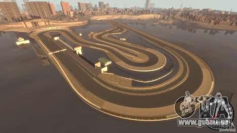 Rennstrecke für GTA 4 Sekunden Bildschirm