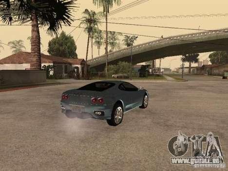 Ferrari 360 Modena für GTA San Andreas rechten Ansicht