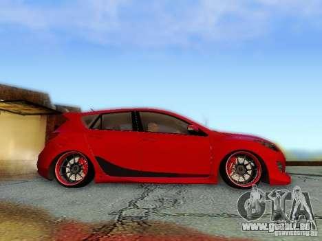 Mazda Speed 3 2010 für GTA San Andreas rechten Ansicht