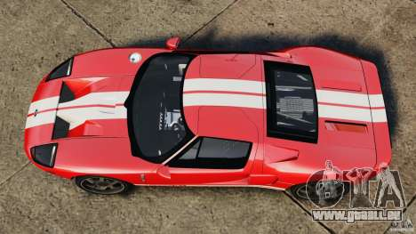 Ford GT 2005 v1.0 pour GTA 4 est un droit