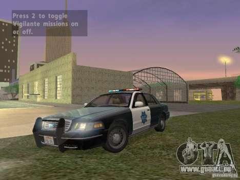 LowEND PCs ENB Config pour GTA San Andreas quatrième écran