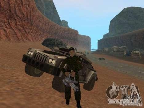 Soldats de l'armée russe pour GTA San Andreas sixième écran