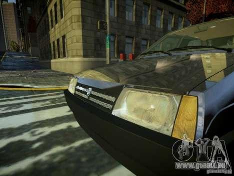 VAZ 2109 pour GTA 4 Vue arrière
