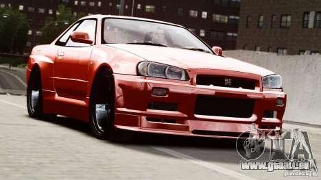 Nissan Skyline GT-R (R34) Stance pour GTA 4