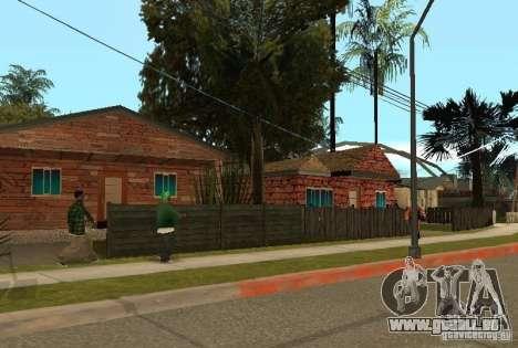 Neue Texturen der Häuser an der Grove Street für GTA San Andreas