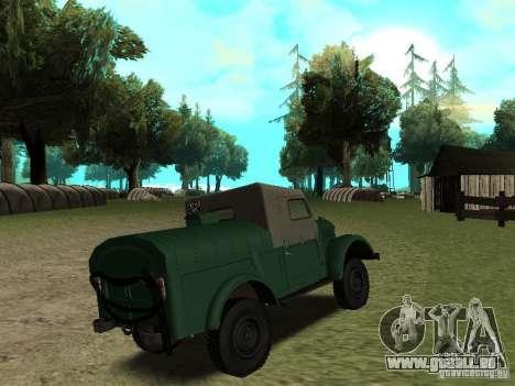 APA GAZ 69 12 pour GTA San Andreas vue de droite